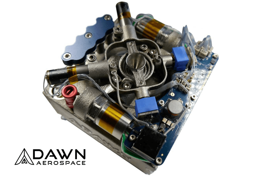 Dawn Aerospace SmallSat Propulsion Component - Orbital Transports