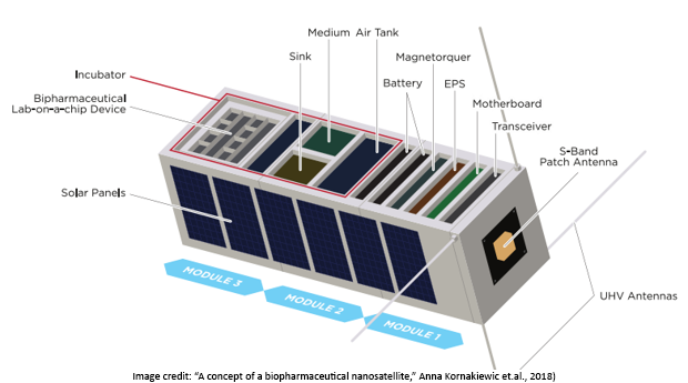 CubeSats for Biotech Research in Microgravity with Payload Return