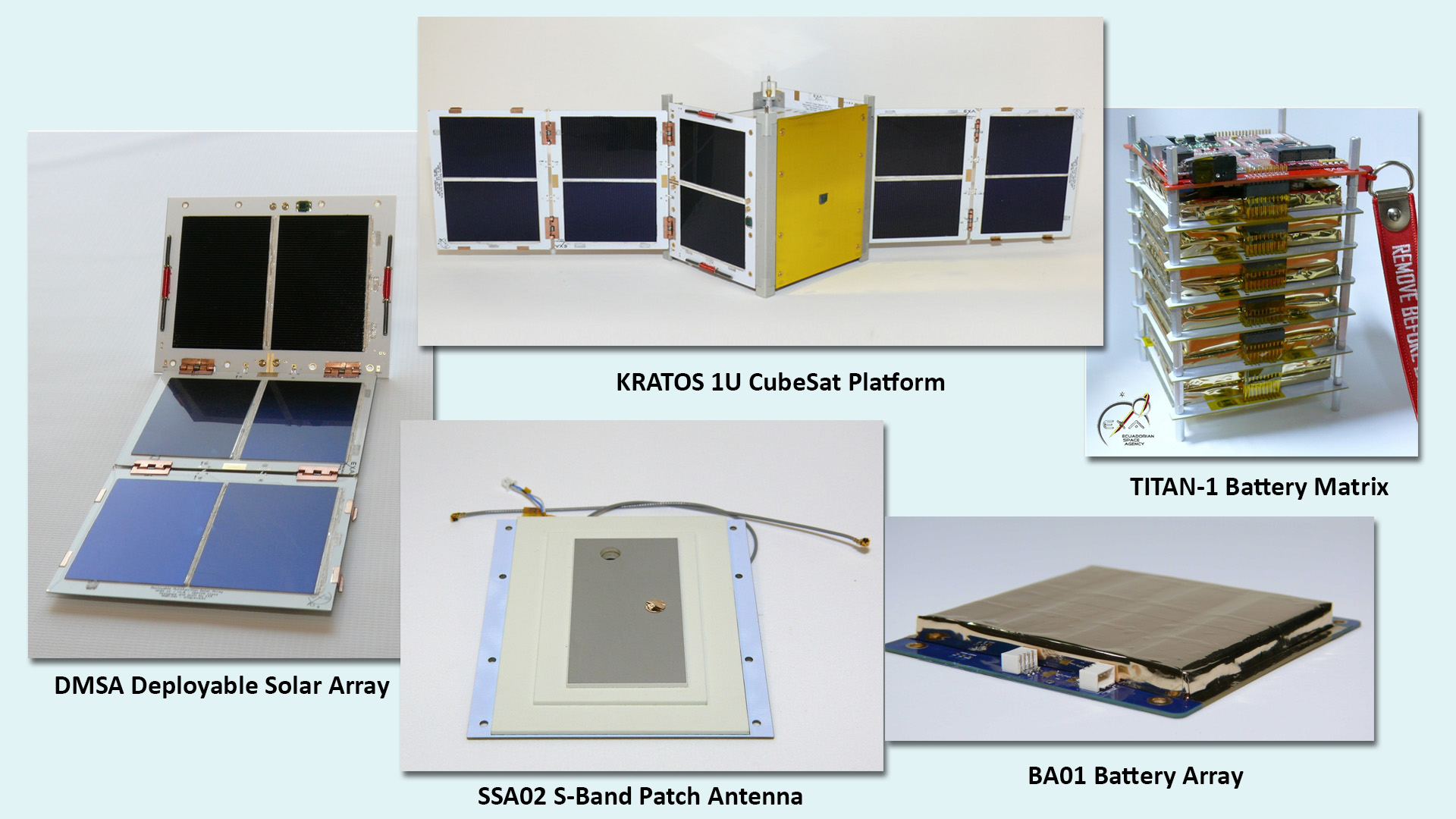 EXA adds CubeSat hardware products to SmallSat Catalog
